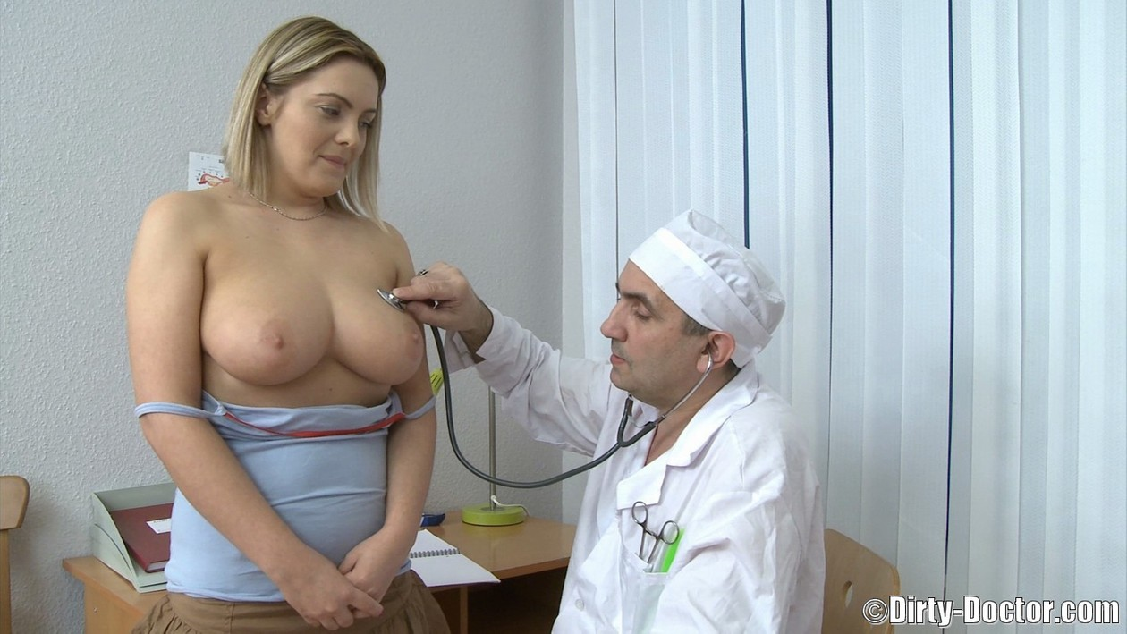 Doctor Fucks Blonde Teen